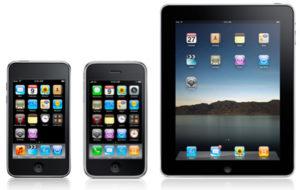Apple iPhone, iPad, and iPod