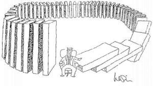 domino effect of books