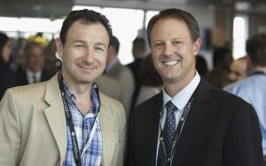 DMitry Oleynikov, M.D., (left) and Michael Dixon, Ph.D.