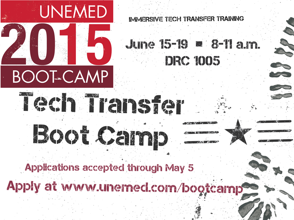 unemed tech transfer bootcamp