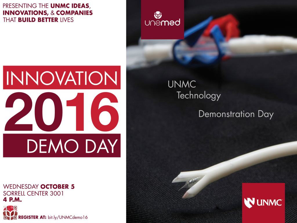 UNMC Demo Day 2016 is Oct. 5